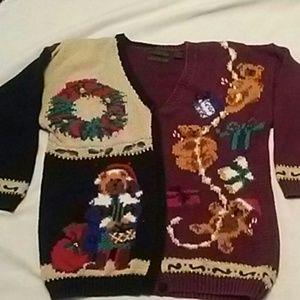 Vintage Croft & Barrow Ugly Christmas Sweater